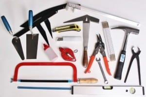 Roofer tools set 31 pcs journeyman-apprentice-range